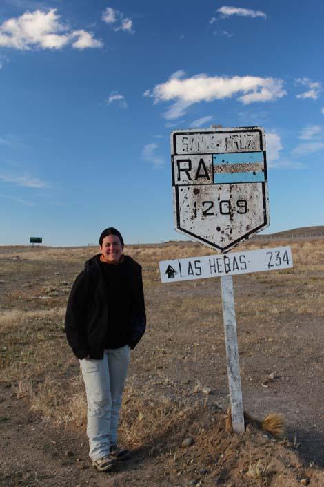 Ruta 40, km 1209