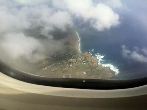 l'Ile de Paques par avion 2