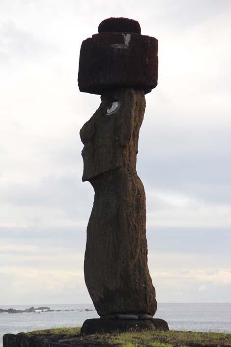 Tahai, moai avec ses yeux