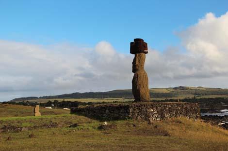 Tahai, moai seul