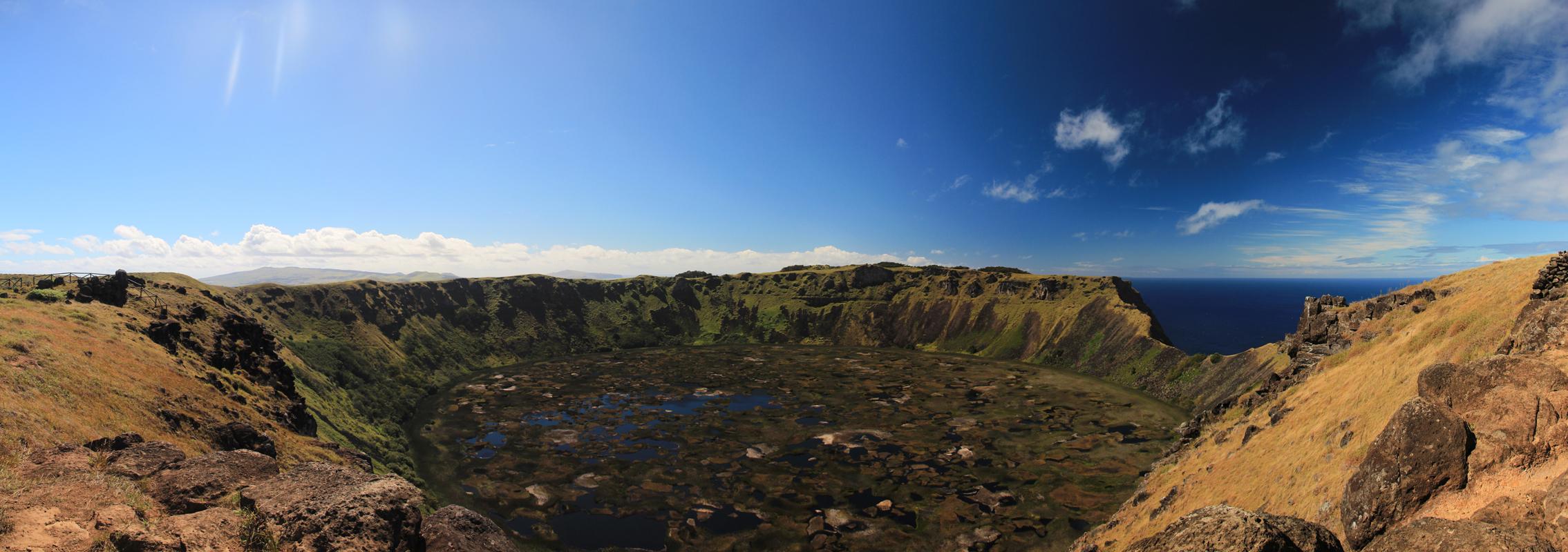 Panorama depuis Rano Kau