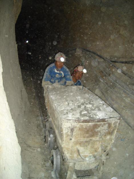 Chariot Mines de Potosi