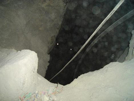 Passerelle des Mines de Potosi