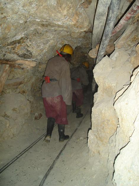 Couloirs mines de Potosi