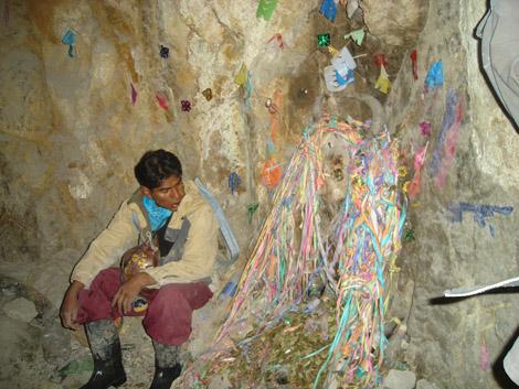 El Tio mines de Potosi