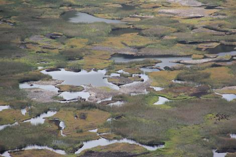 Lac du cratère de Rano Kau