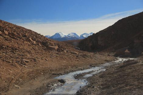 rivière glacee