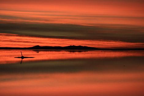 Uyuni sunrise rouge