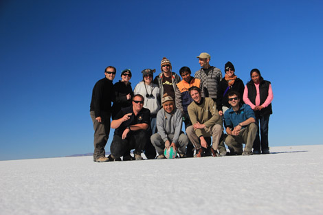 Uyuni photo groupe