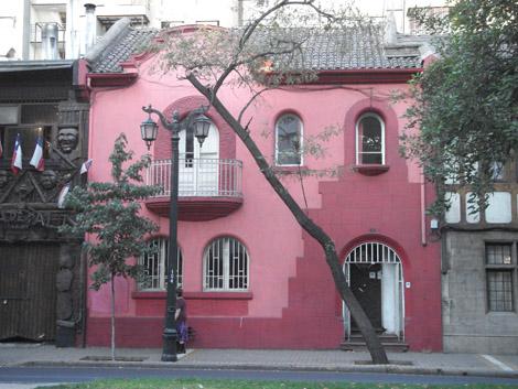 Auberge Santiago extérieur