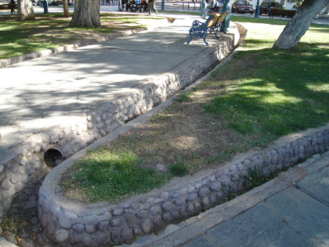 Mendoza irriguation