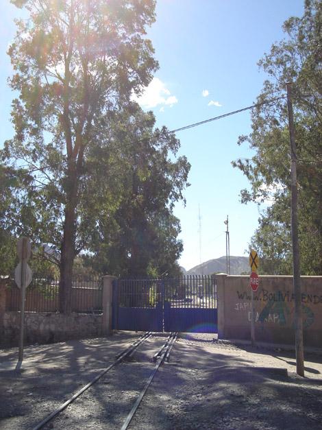 Gare ferroviaire de Tupiza