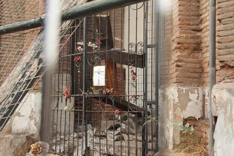 Santiago église effondrée