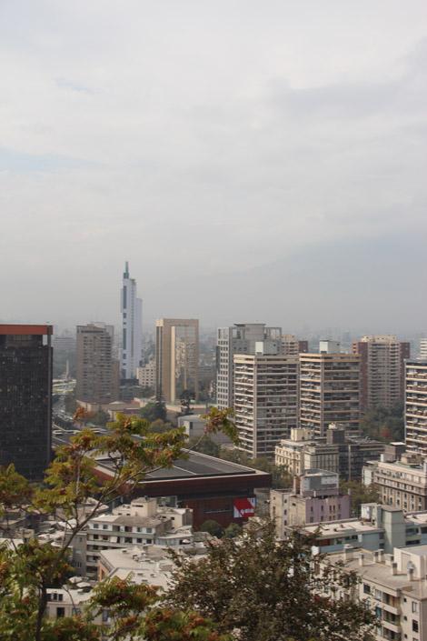 santiago ville polluée