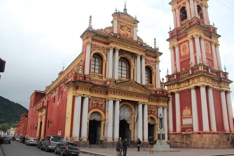 Salta église rouge