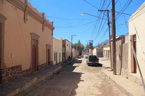 Tilcara rue