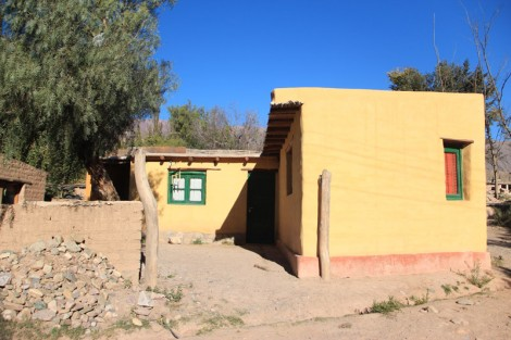 Une maison de Tilcara (nord-ouest de l'Argentine)