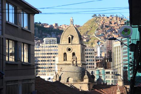 La ville qui s'accrochait aux montagnes, église San Francisco