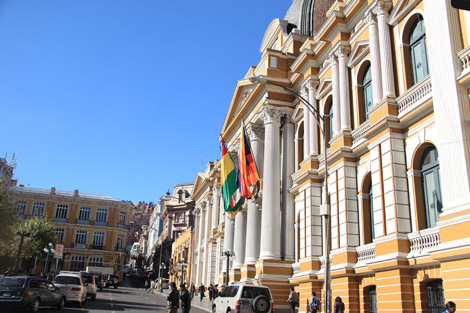 Le siège du gouvernement
