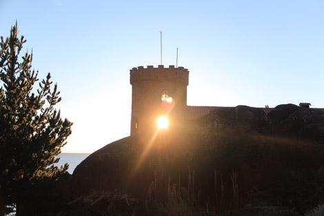 Un fantôme dans le château?