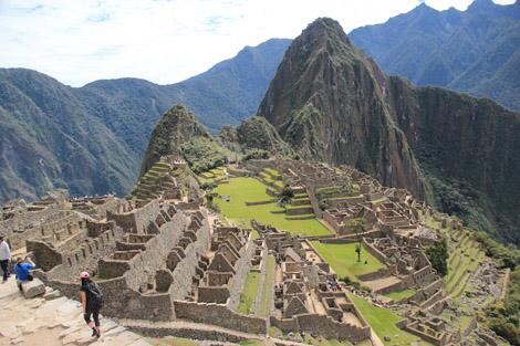 La cité de Machu Picchu