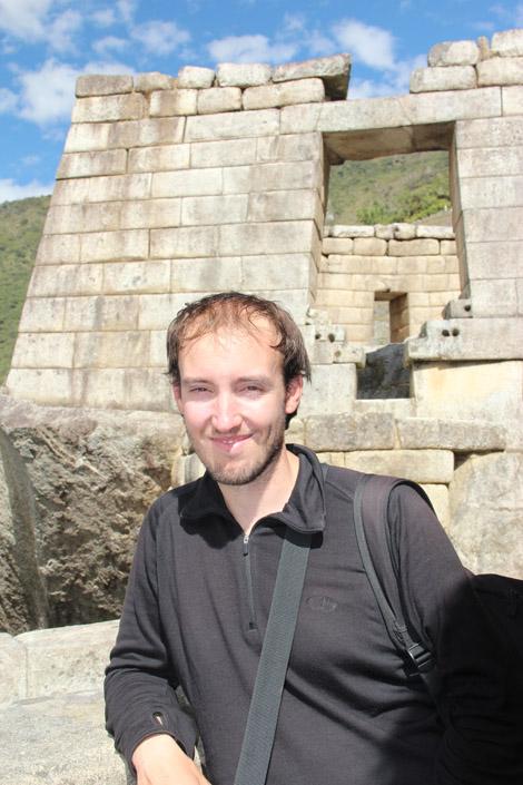 Fabien et le temple du soleil