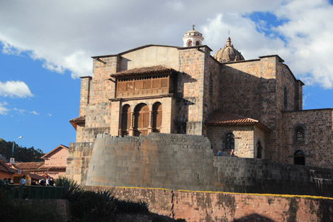 Restes de murs Incas