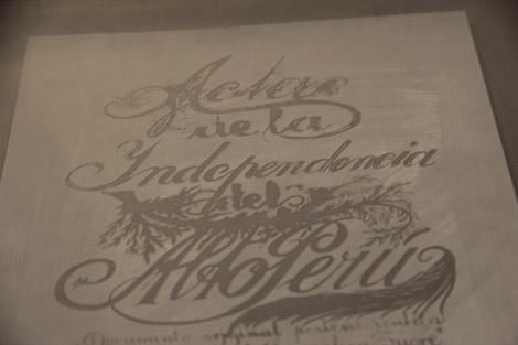 Acte d'indépendance de la Bolivie