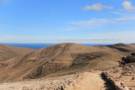 Chemin de l'Inca Isla del Sol