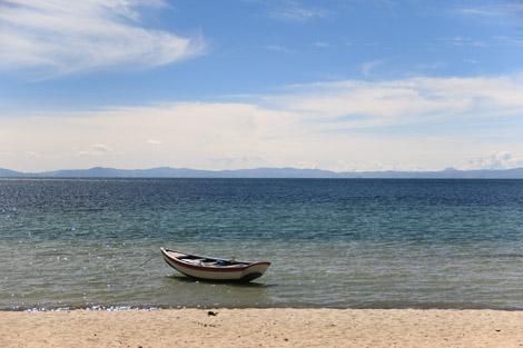 Isla del Sol port Nord