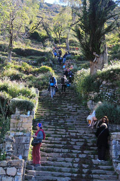 Escalier de l'Inca Isla del Sol