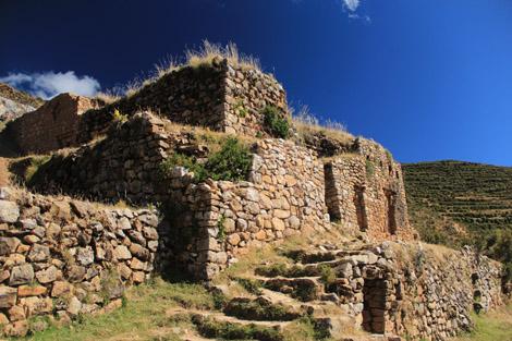 Palais de l'Inca Isla del Sol