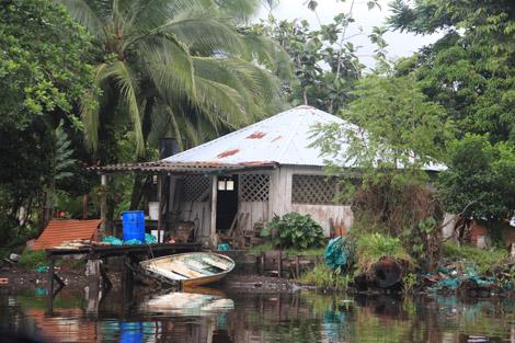 Maisons de Tortuguero