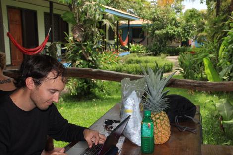 Repas au Costa Rica