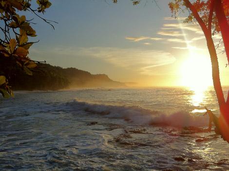 Montezuma levé de soleil