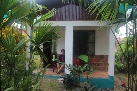 Notre cabane dans la jungle!