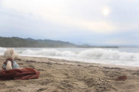 La plage de Cahuita