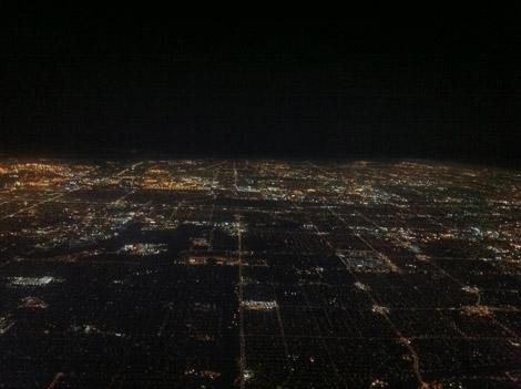 Une autre vue de LA