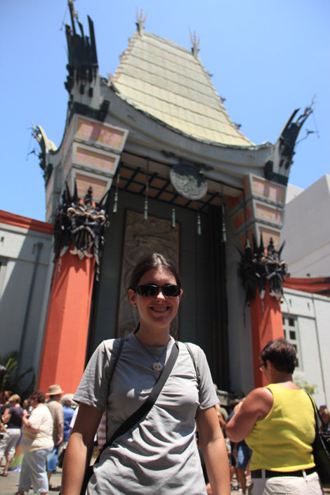 Elodie et le Chinese Theatre