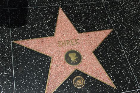 Shrek, star du cinéma (oui, ça n'est pas réservé aux personnes réelles)