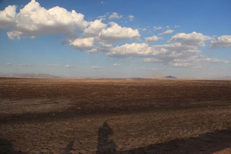 Dans le désert…