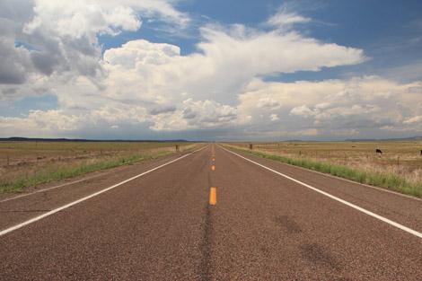 La route 66 au sommet de sa forme