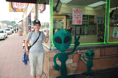 Trois extraterrestres