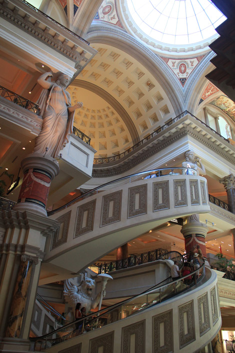 Caesar Palace, escalier central