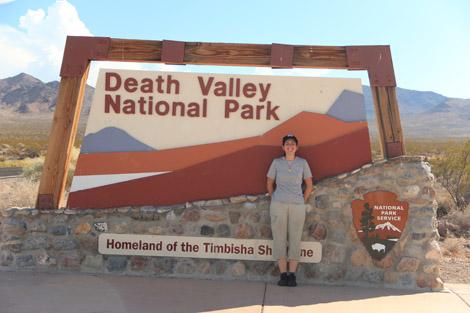 Bienvenue dans la Vallée de la Mort!