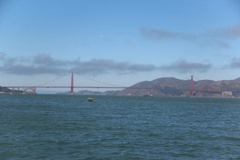 Le Golden Gate vu du même pont