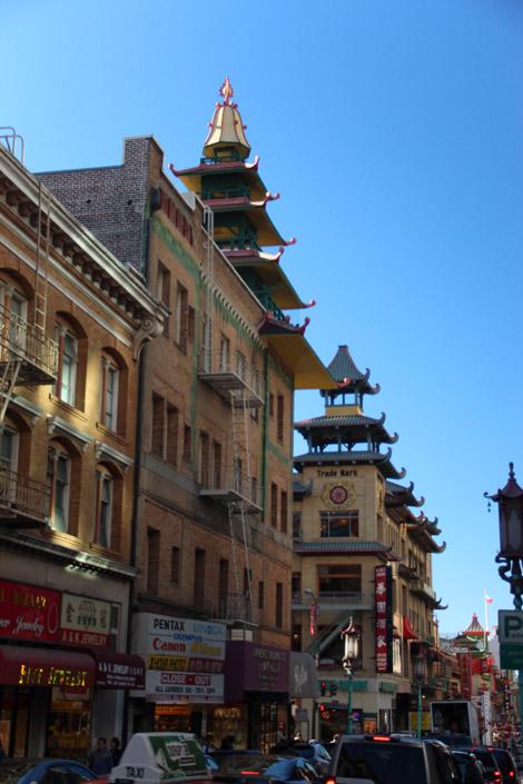 Les toits de Chinatown