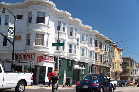 Des maisons de Castro