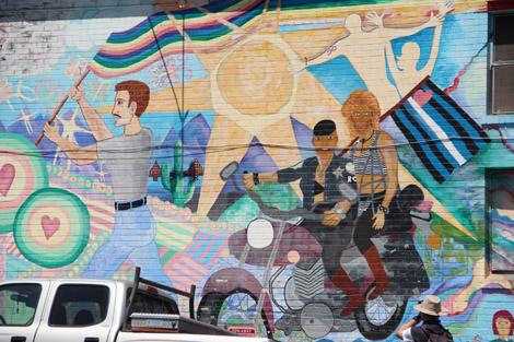 Peintures murales naïves