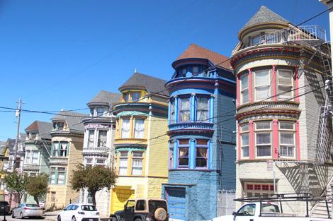 D'autres maisons de Haight St.